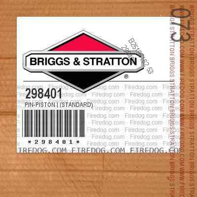 298401 Pin-Piston | (Standard)