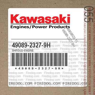 49089-2327-9H SHROUD-ENGINE