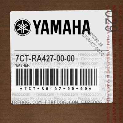 7CT-RA427-00-00 WASHER