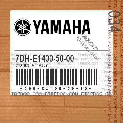 7DH-E1400-50-00 CRANKSHAFT ASSY