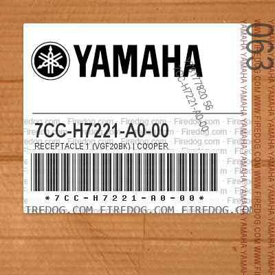 7CC-H7221-A0-00 RECEPTACLE 1 (VGF20BK) | COOPER