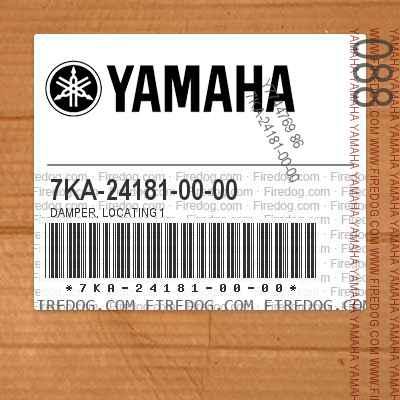7KA-24181-00-00 DAMPER, LOCATING 1