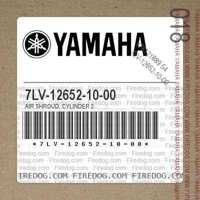 7LV-12652-10-00 AIR SHROUD, CYLINDER 2