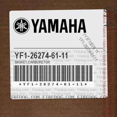 YF1-26274-61-11 GASKET,CARBURETOR