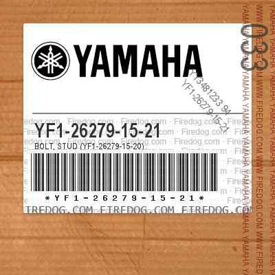 YF1-26279-15-21 BOLT, STUD (YF1-26279-15-20)