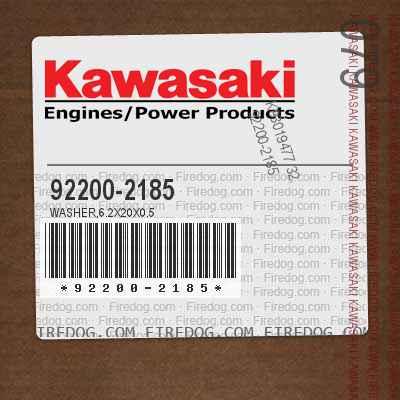 92200-2185 WASHER,6.2X20X0.5