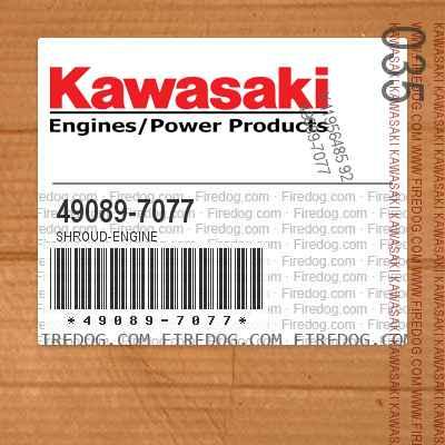 49089-7077 SHROUD-ENGINE