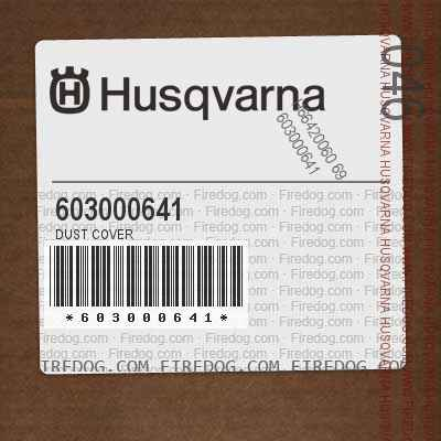 603000641 Dust Cover