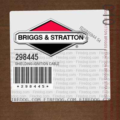 298445 Shielding-Ignition Cable