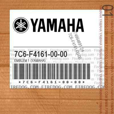 7C6-F4161-00-00 EMBLEM 1 (YAMAHA)