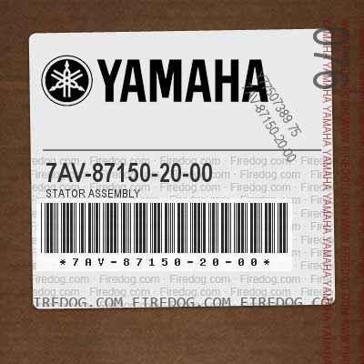 7AV-87150-20-00 STATOR ASSEMBLY