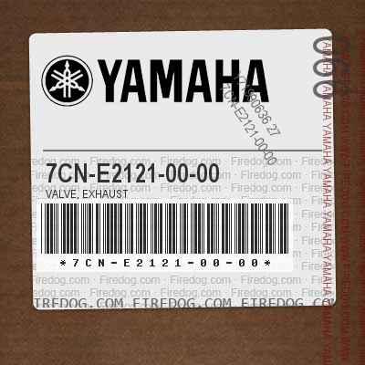 7CN-E2121-00-00 VALVE, EXHAUST