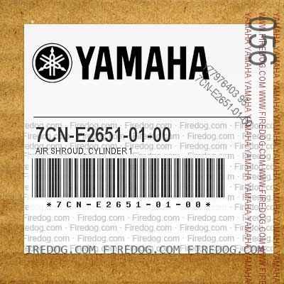 7CN-E2651-01-00 AIR SHROUD, CYLINDER 1