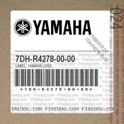 7DH-R4278-00-00 LABEL, YAMAHA LOGO
