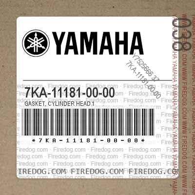 7KA-11181-00-00 GASKET, CYLINDER HEAD 1
