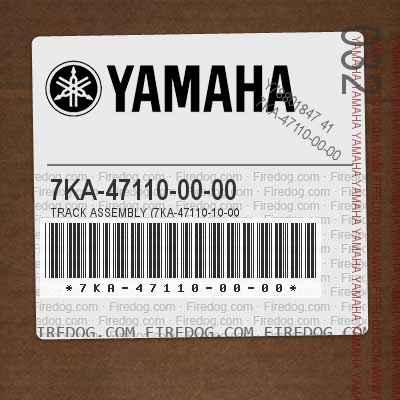 7KA-47110-00-00 TRACK ASSEMBLY (7KA-47110-10-00