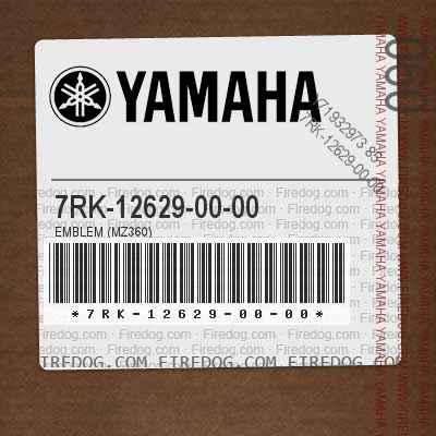 7RK-12629-00-00 EMBLEM (MZ360)