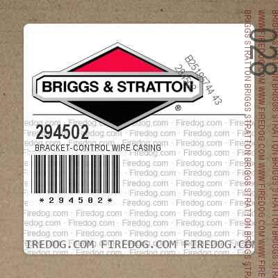 294502 Bracket-Control Wire Casing