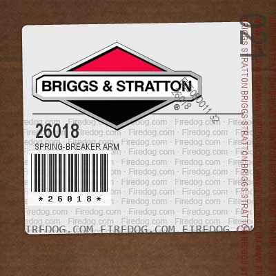 26018 Spring-Breaker Arm