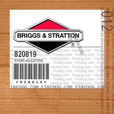 820819 Strap-Adjusting