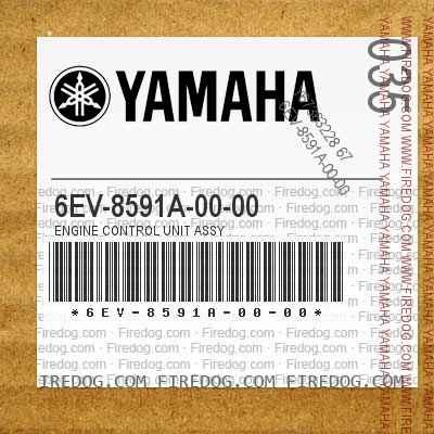 6EV-8591A-00-00 ENGINE CONTROL UNIT ASSY