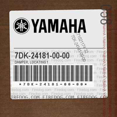 7DK-24181-00-00 DAMPER, LOCATING 1
