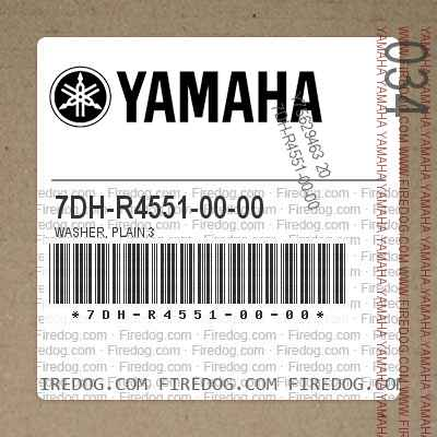 7DH-R4551-00-00 WASHER, PLAIN 3