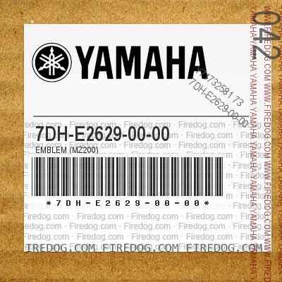 7DH-E2629-00-00 EMBLEM (MZ200)