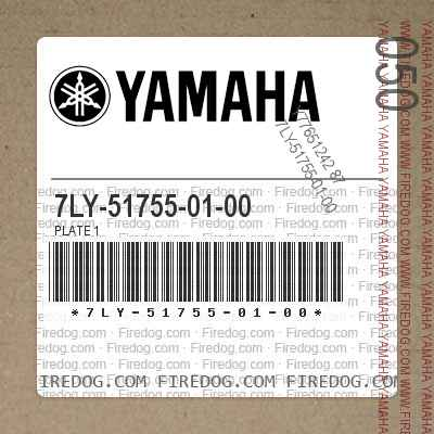 7LY-51755-01-00 PLATE 1