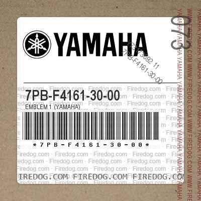 7PB-F4161-30-00 EMBLEM 1 (YAMAHA)