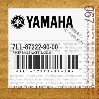 7LL-87222-90-00 RECEPTACLE (WCF63120B02)