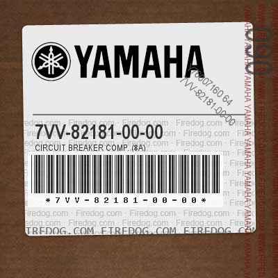 7VV-82181-00-00 CIRCUIT BREAKER COMP. (8A)