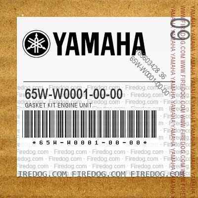 65W-W0001-00-00 GASKET KIT ENGINE UNIT