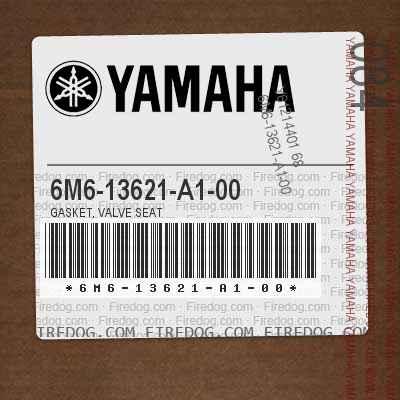 6M6-13621-A1-00 GASKET, VALVE SEAT