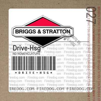 Drive-Hsg No Nomenclature