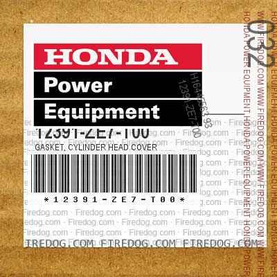 12391-ZE7-T00 GASKET, CYLINDER HEAD COVER