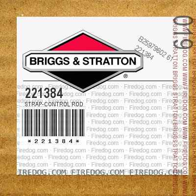 221384 Strap-Control Rod