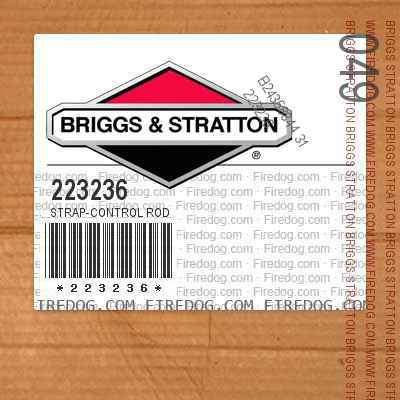 223236 Strap-Control Rod