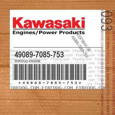 49089-7085-753 SHROUD-ENGINE