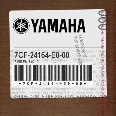 7CF-24164-E0-00 EMBLEM 4 (OIL)