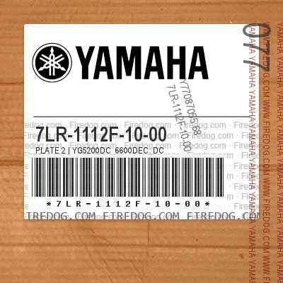 7LR-1112F-10-00 PLATE 2 | YG5200DC_6600DEC_DC