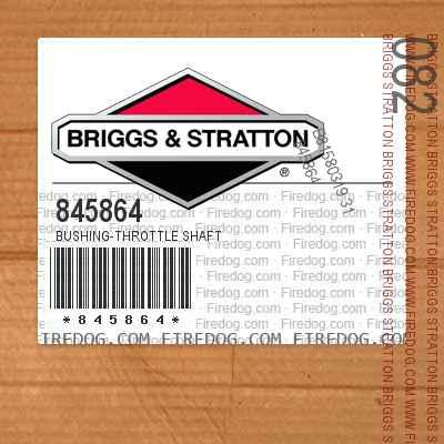 845864 Bushing-Throttle Shaft