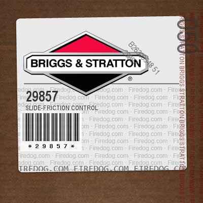 29857 Slide-Friction Control