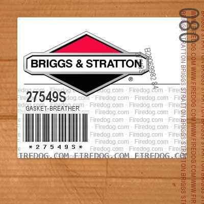 27549S Gasket-Breather