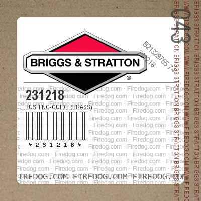 231218 Bushing-Guide (Brass)