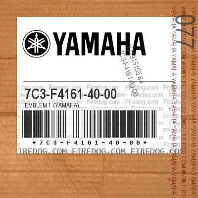 7C3-F4161-40-00 EMBLEM 1 (YAMAHA)