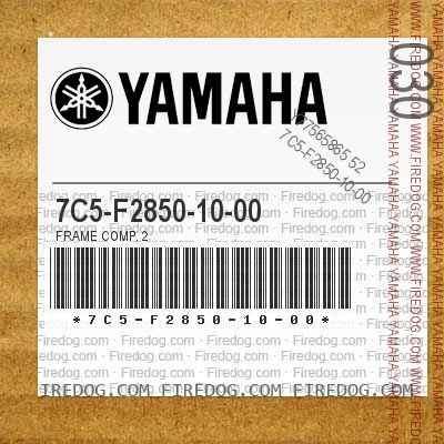 7C5-F2850-10-00 FRAME COMP. 2