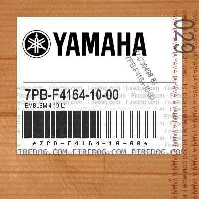 7PB-F4164-10-00 EMBLEM 4 (OIL)