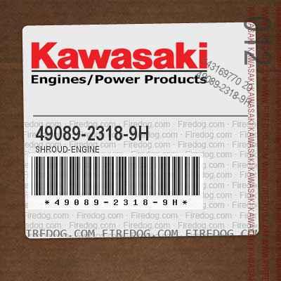 49089-2318-9H SHROUD-ENGINE