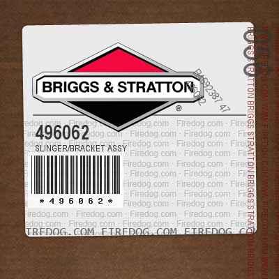 496062 SLINGER/BRACKET ASSY